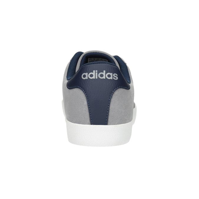 Graue Leder-Sneakers adidas, Grau, 803-7197 - 16