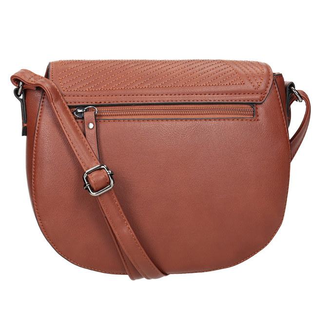 Damenhandtasche mit Steppung gabor-bags, Braun, 961-3055 - 16