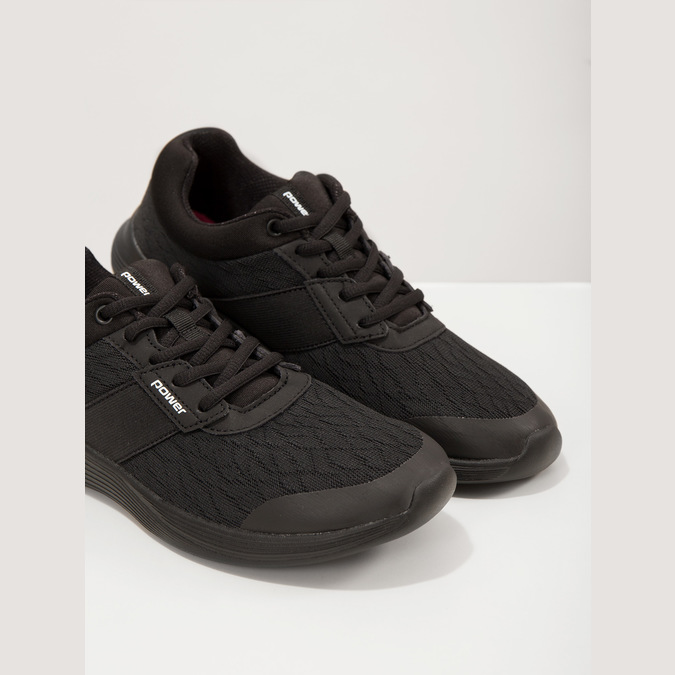 Schwarze Damen-Sneakers power, Schwarz, 509-6203 - 18