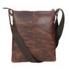 Herren-Crossbody-Tasche aus Leder, Braun, 964-4140 - 26