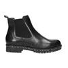 Damen-Chelsea-Boots mit massiver Sohle bata, Schwarz, 596-6677 - 15
