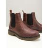 Damen-Chelsea-Boots aus Leder bata, Braun, 596-3680 - 14