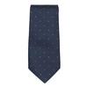 Set, bestehend aus Krawatte und Manschettenknöpfen bata, Blau, 999-9298 - 26
