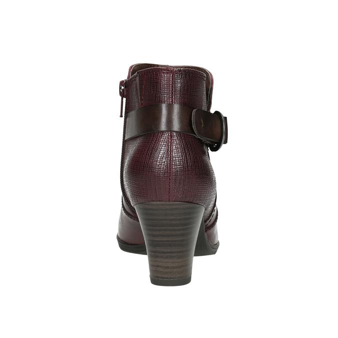 Knöchelschuhe der Weite H bata, Rot, 696-5625 - 17