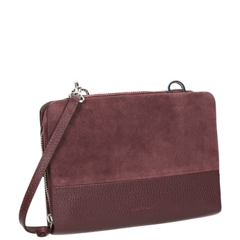 Rote Crossbody-Handtasche aus Leder royal-republiq, Rot, 963-5050 - 13