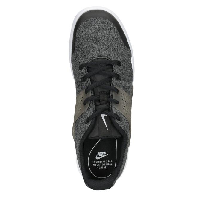Herren-Sneakers mit markanter Sohle nike, Schwarz, 809-6185 - 15