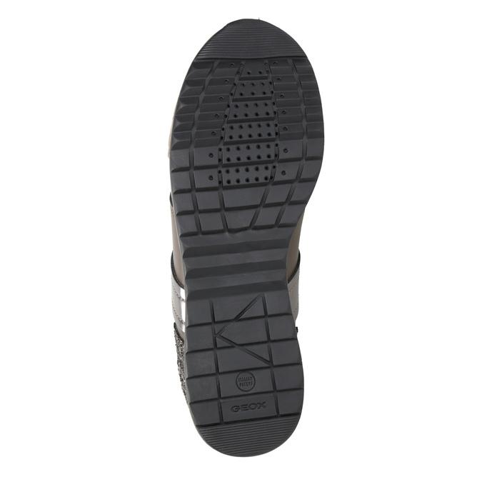 Sneakers mit Glitzereffekt geox, Braun, 621-8045 - 17