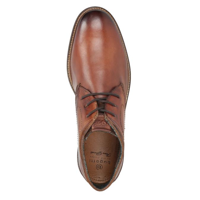 Herren-Knöchelschuhe aus Leder bugatti, Braun, 826-3005 - 15