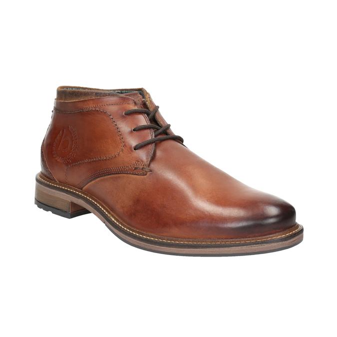 Herren-Knöchelschuhe aus Leder bugatti, Braun, 826-3005 - 13