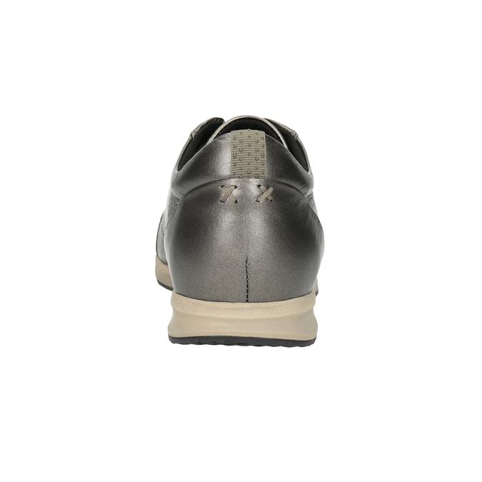 Damen-Sneakers aus Leder geox, Braun, 526-8090 - 16