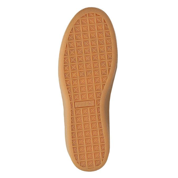 Damen-Sneakers aus Leder puma, Schwarz, 503-6169 - 17