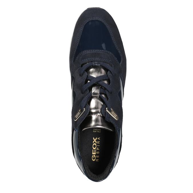 Blaue Damen-Sneakers geox, Blau, 623-9042 - 15