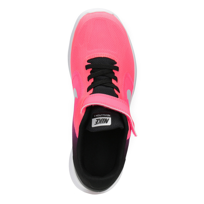 Rosa Mädchen-Sneakers nike, Rot, 309-5132 - 15