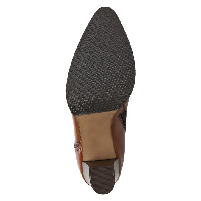 Lederstiefeletten bata, Braun, 794-4650 - 19