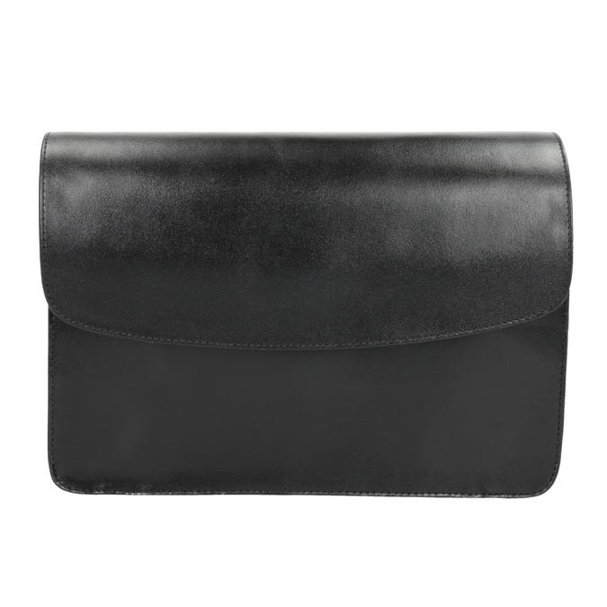 Schwarze Crossbody-Handtasche aus Leder vagabond, Schwarz, 964-6086 - 26