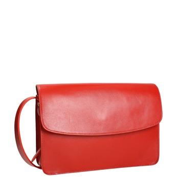 Rote Lederhandtasche vagabond, Rot, 964-5086 - 13
