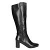 Stiefel mit stabilem Absatz bata, Schwarz, 694-6638 - 15