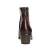 Damenstiefeletten aus Leder bata, Braun, 696-4653 - 16