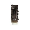 Mädchen-Lederstiefel mit Fell mini-b, Braun, 393-4606 - 17