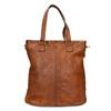 Damenhandtasche aus Leder, Braun, 964-3245 - 26