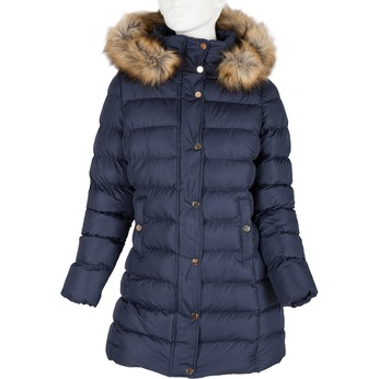 Damen-Winterjacke mit Fell bata, Blau, 979-9134 - 13