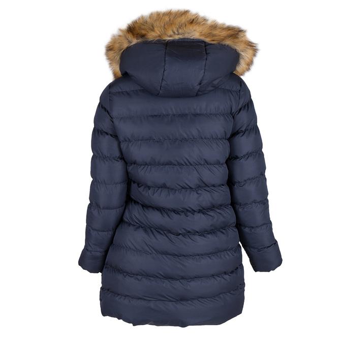 Damen-Winterjacke mit Fell bata, Blau, 979-9134 - 26