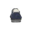 Legere Halbschuhe aus Leder bata, Blau, 853-9612 - 16