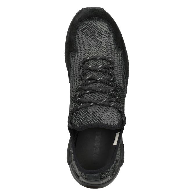 Sportliche Damen-Sneakers diesel, Schwarz, 509-6760 - 17