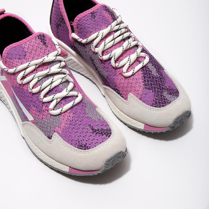 Sportliche, rosa Sneakers diesel, Rosa, 509-5760 - 14
