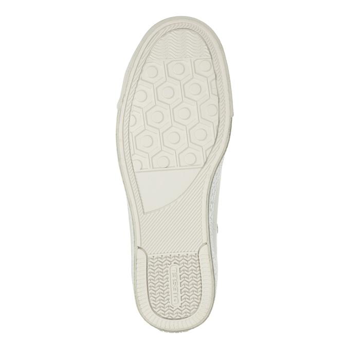Weiße, knöchelhohe Sneakers diesel, Weiss, 501-6743 - 19