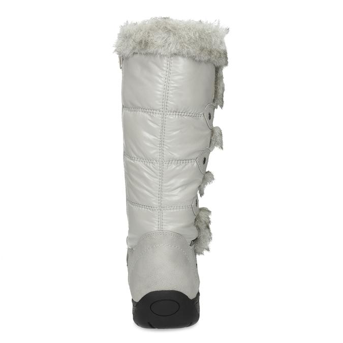 Schneestiefel mit Fell bata, Grau, 599-8618 - 15