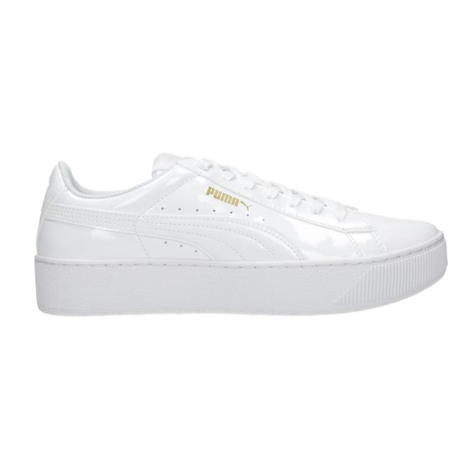 Weiße Damen-Sneakers mit Plattform puma, Weiss, 501-1159 - 26