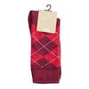 Herrensocken mit englischem Muster bata, Rot, 919-5300 - 13