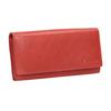 Rote Damen-Geldbörse aus Leder bata, Braun, 944-3203 - 13
