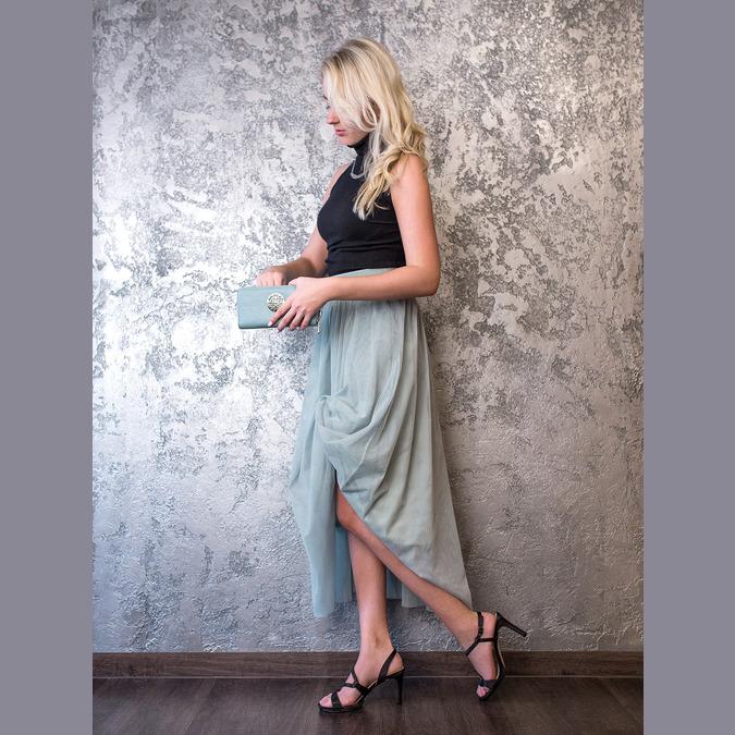 Elegante Damensandalen mit Steinchen bata, Schwarz, 729-6611 - 19