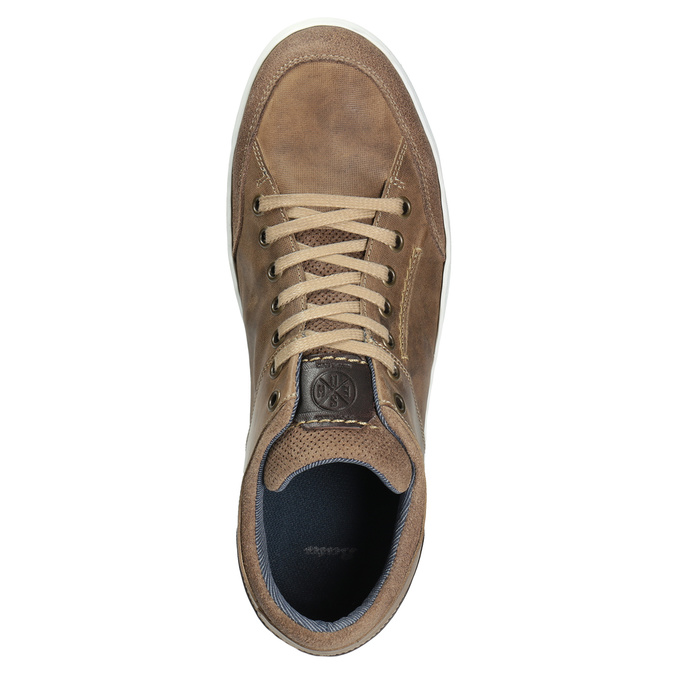 Herren-Sneakers aus Leder bata, 846-8927 - 15