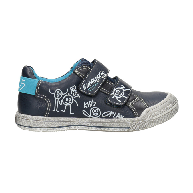 Legere Kinder-Sneakers mini-b, Blau, 211-9217 - 26