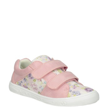 Gemusterte, rosa Mädchen-Sneakers mini-b, 221-5215 - 13