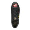 Schwarze Sneakers mit Aufnähern north-star, Schwarz, 541-9602 - 15