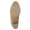Braune Damenstiefeletten mit Absatz bata, Braun, 791-3615 - 17