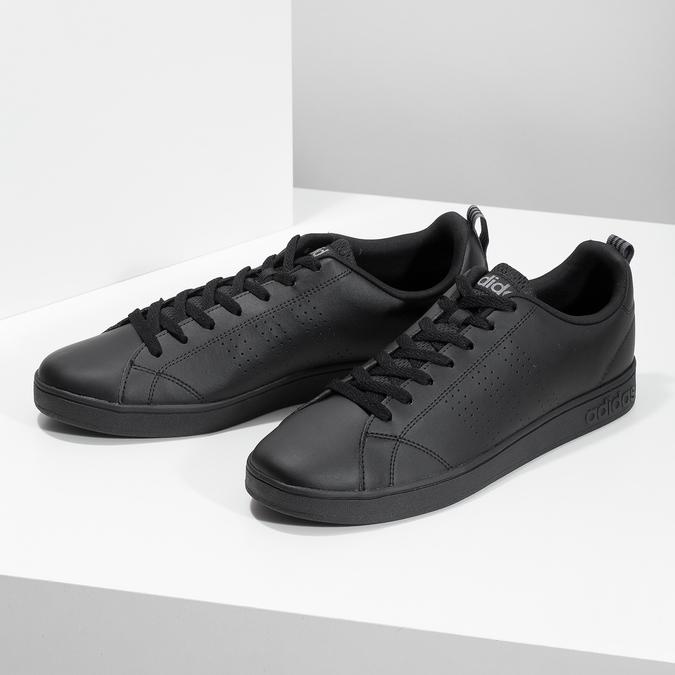 Schwarze Herren-Sneakers adidas, Schwarz, 801-6144 - 16