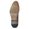 Herrenhalbschuhe aus Leder mit Verzierung bata, Braun, 826-4927 - 18