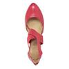 Rosa Lederpumps insolia, Rot, 624-5643 - 15