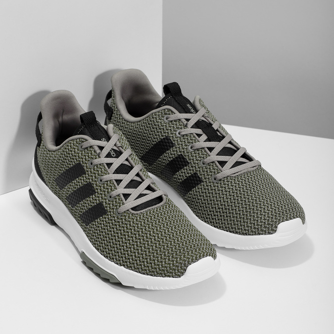 Sneakers in sportlichem Design adidas, khaki, 809-7201 - 26
