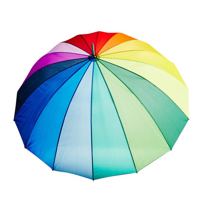Farbiger Regenschirm doppler, mehrfarbe, 909-0186 - 26
